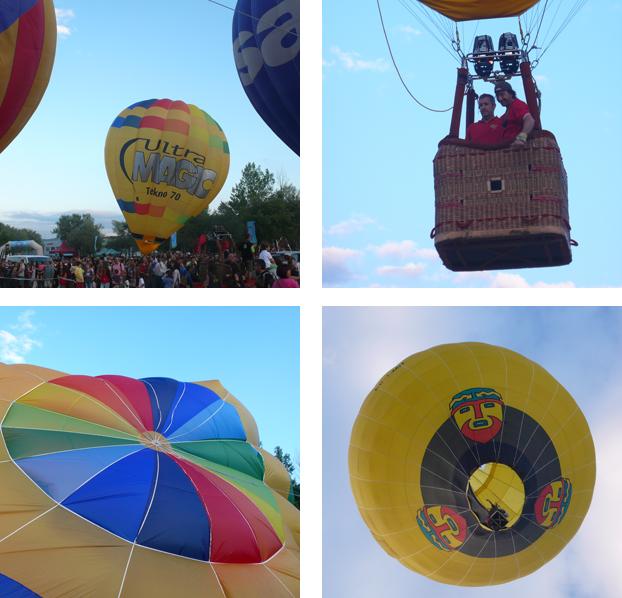 Imatges del European Balloon Festival de l'any passat