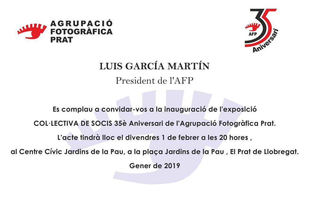 Invitació Exposició Col.lectiva AFPrat