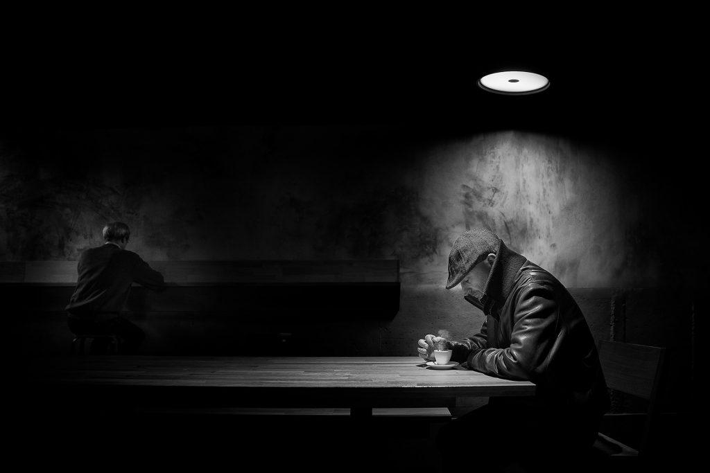 """1r Premi: """"Lonely Coffee"""" de de Manu Barreiro Rodríguez"""